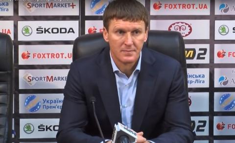 Тренер «Ворскли» Василь Сачко: Для нас гра в Лізі Європи – вже успіх