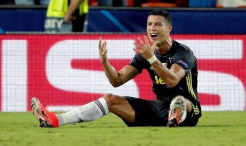 Офіційно: УЄФА відкрив дисциплінарну справу проти нападника «Ювентуса» Кріштіану Роналду
