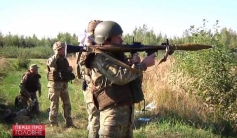 На Житомирщині військові готуються вирушити на передову