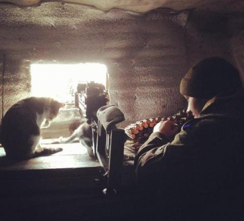 На передовій Донбасу пройшла незвичайна «перевірка» позицій бійців ЗСУ