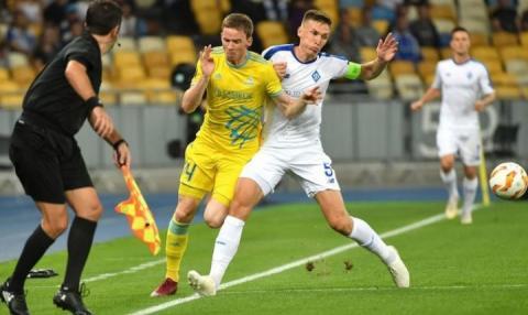 «Динамо» втратило перемогу над «Астаною» на старті групового турніру Ліги Європи сезону-18/19