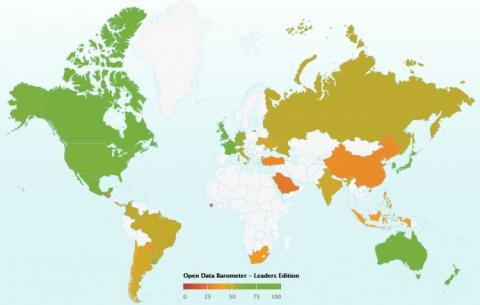 Україна вийшла на 17 місце в рейтингу відкритості даних