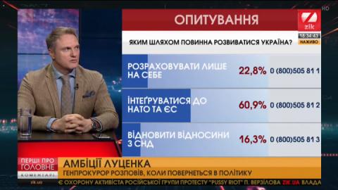 Рибчинський спрогнозував політичне майбутнє Луценка