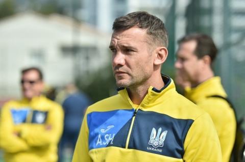 Андрій Шевченко на матчі з командами Італії та Чехії викликав вісім легіонерів