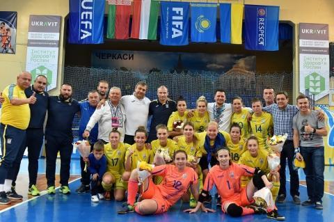 Жіноча збірна України з футзалу посперечається за медалі Євро-2019 у Португалії