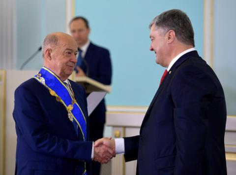 Президент привітав Національну академію правових наук з 25-річчям заснування