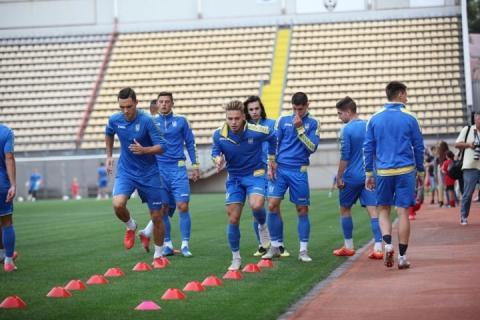 Збірна України U-21 з футболу розпочала підготовку до жовтневих матчів Євро-2019