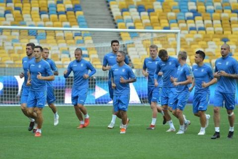 Збірна України з футболу підготовку до матчів проти Італії та Чехії розпочне 8 жовтня
