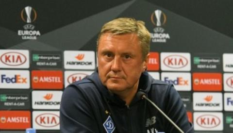 Тренер «Динамо» Олександр Хацкевич: У грі з «Яблонцем» на першому місці – результат