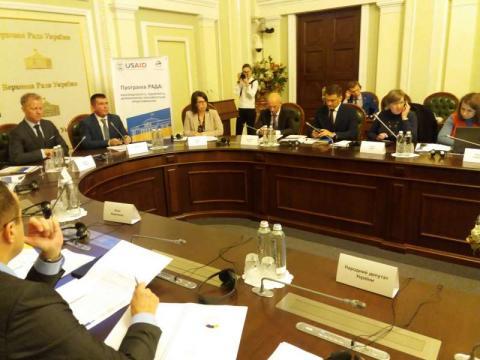 У Верховній Раді проведено круглий стіл на тему: «Депутатський імунітет та індемнітет. Зміни до Конституції»