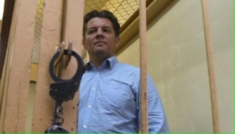 Український політв'язень Сущенко звернувся до співвітчизників перед етапом у російську колонію