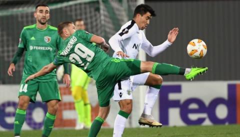 У матчі Ліги Європи «Ворскла» програла «Спортингу» з Лісабона