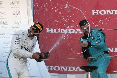 Британський пілот Формули-1 Льюїс Гемілтон виграв Гран-прі Японії-2018