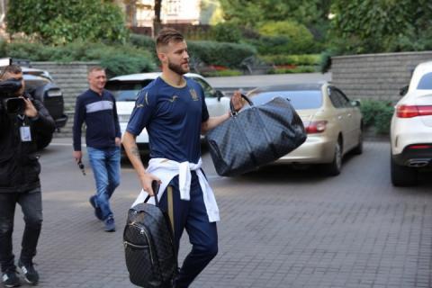 Збірна України розпочала збір перед матчами з Італією та Чехією