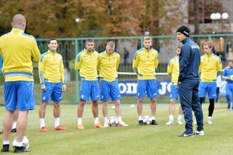 Збірна України розпочала підготовку до матчів проти Італії та Чехії