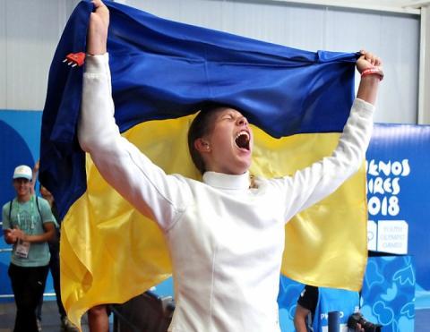 Україна здобула першу золоту медаль на ІІІ літній Юнацькій Олімпіаді-2018