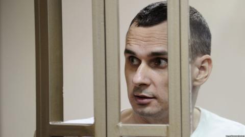 У шорт-лист номінантів на премію Сахарова потрапив Олег Сенцов