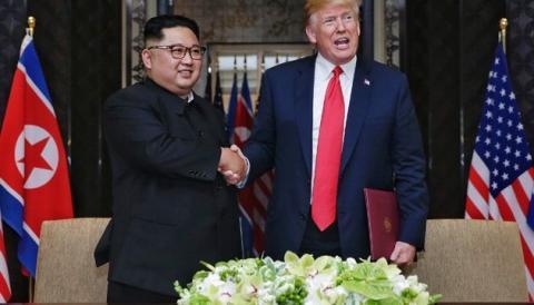 США готує нову зустріч Трампа з Кім Чен Ином