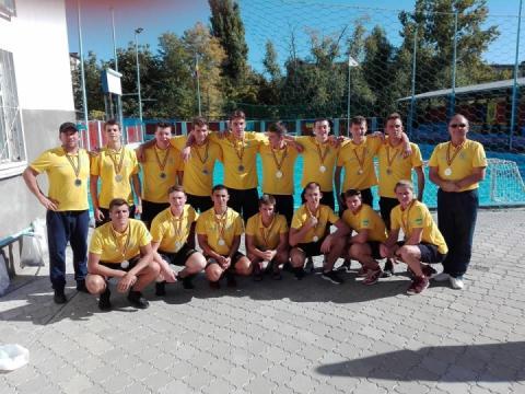 Збірна України U-17 з водного поло – срібний призер турніру у Кишиневі