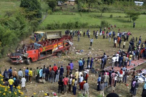 Унаслідок ДТП в Кенії загинуло 50 осіб