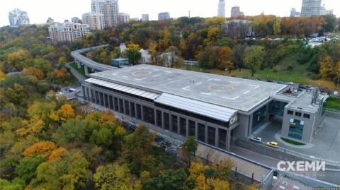 Арештований «вертолітний майданчик Януковича» віддали в управління Києву