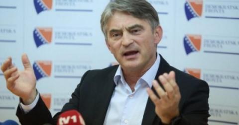 10 тис. боснійських хорватів влаштували протест через обрання Комшича до Президії