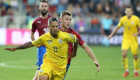 У матчі Ліги націй Україна – Чехія букмекери ставлять на українців