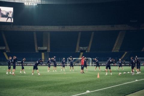 Футболісти збірної Чехії провели у Харкові передігрове тренування