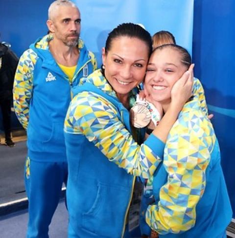 Гімнастка Анастасія Бачинська здобула свою другу «бронзу» ЮОІ-2018