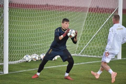 Збірна України з футболу провела останнє тренування перед грою з Чехією