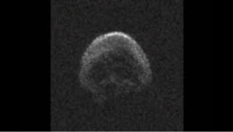 Комета смерті: До Землі наближається астероїд у формі черепа