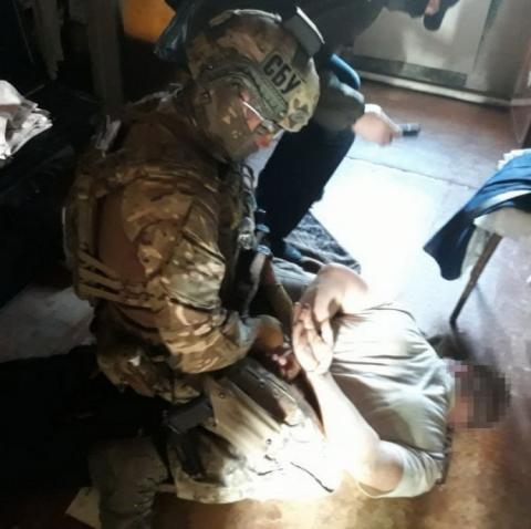 СБУ затримала бойовика, що приїхав з Росії до родичів