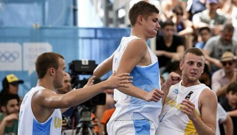 Збірна України з стрітболу зіграє з Аргентиною у півфіналі ЮОІ-2018