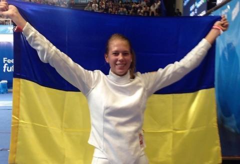 Фехтувальниця Катерина Чорній понесе прапор України на закритті ЮОІ-2018