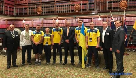 Фотофакт: В Австралії вшанували українську команду «Ігор Нескорених»