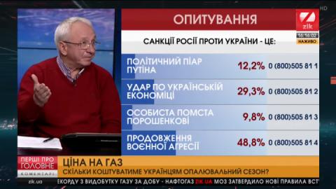 Кучеренко: Ціна на газ економічно обґрунтована чи все ж політично зумовлена?
