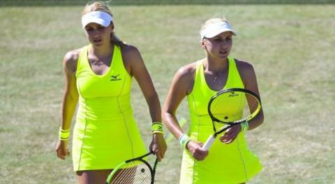 Сестри Кіченок у парі вийшли до другого раунду тенісного турніру WTA Elite Trophy-2018