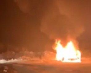 Голова спільноти євробляхерів спалив свою іномарку