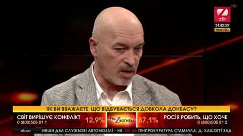 Тука вважає, що заяви Лукашенка щодо Донбасу певним чином знімають ізоляцію з Мінська