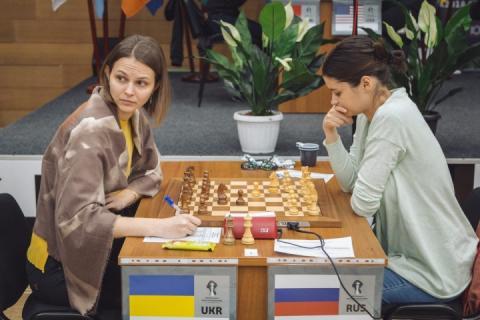 Анна Музичук виграла першу партію другого кола ЧС-2018 з шахів