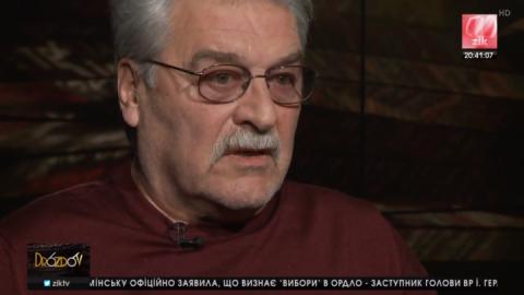 Актор Іван Гаврилюк вважає, що в Україні – епоха цинізму, та не діють жодні правила