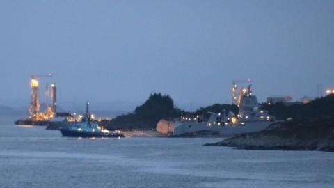 Біля берегів Норвегії зіткнулися натівський фрегат і танкер. Є постраждалі