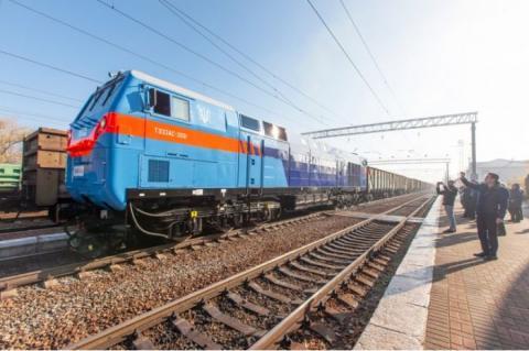 В Україні випробували новий американський локомотив General Electric