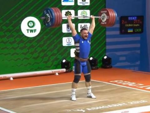 Дмитро Чумак здобув «срібло» ЧС-2018 з важкої атлетики