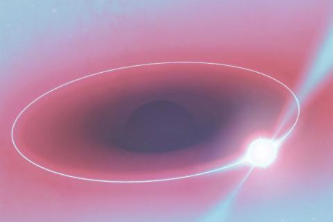 Вченим вдалося зняти чорну діру в середині Галактики