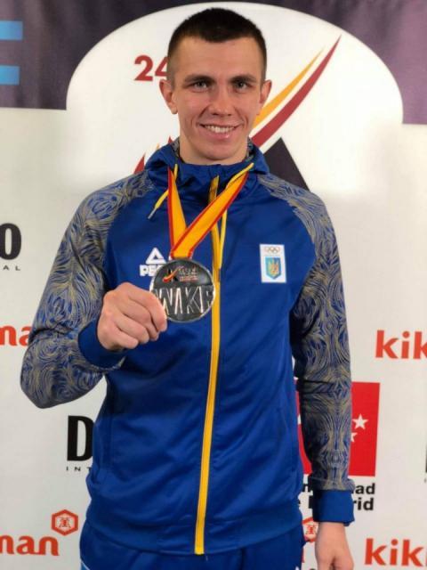 Валерій Чоботар завоював «срібло» ЧС-2018 з карате