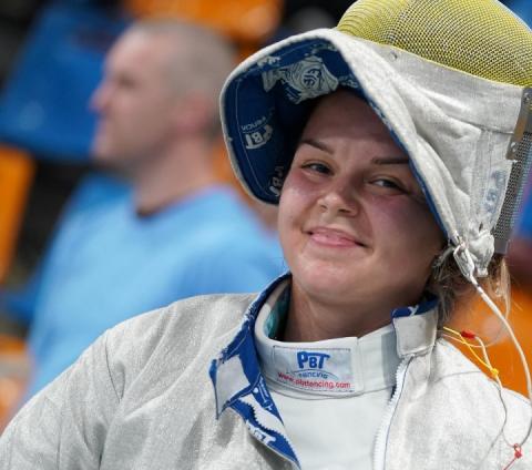 Шаблістка Аліна Комащук виграла «бронзу» на першому етапі КС-18/19