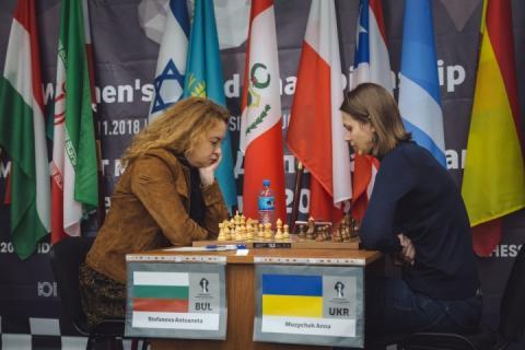 Сестри Анна та Марія Музичук зіграють у чвертьфіналі ЧС-2018 з шахів