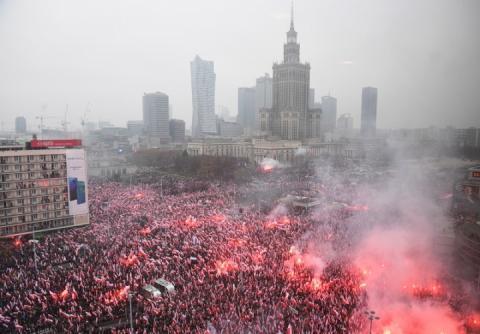 250-тисячний марш незалежності у Варшаві об'єднав польську владу і націоналістів