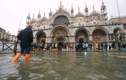 Базиліка св. Марка у Венеції закликає допомогти зберегти мозаїчну підлогу після повені